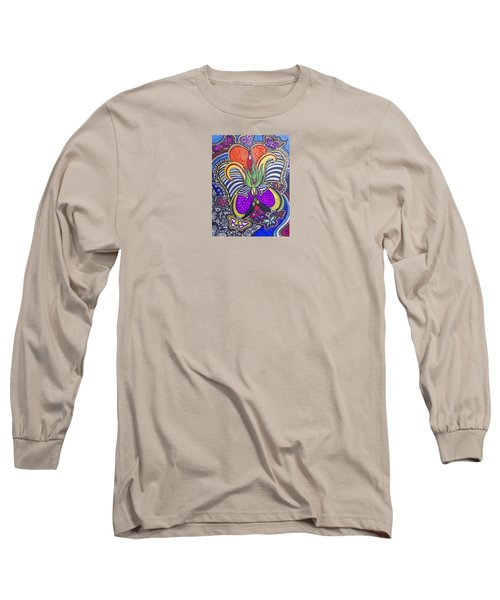 Purple Growth Long Sleeve T-Shirt