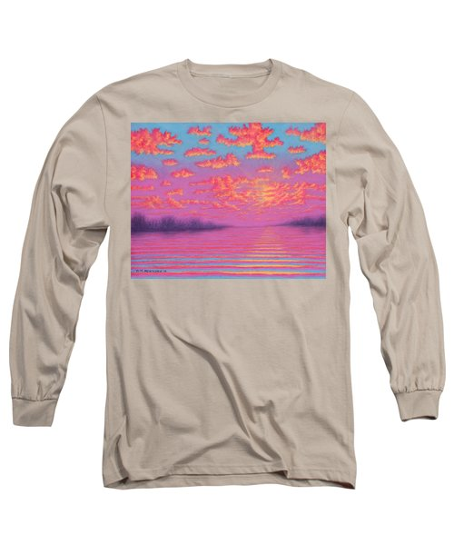 Purple Haze 01 Long Sleeve T-Shirt