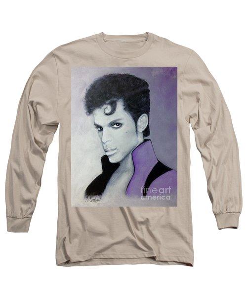 Purple Prince Long Sleeve T-Shirt