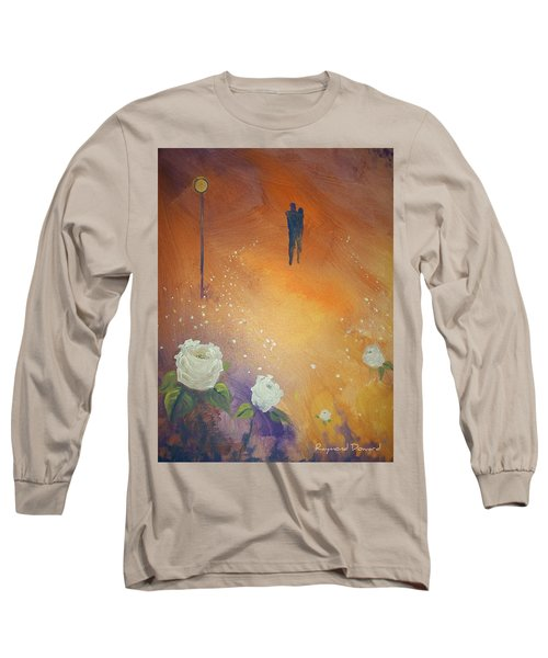 Long Sleeve T-Shirt featuring the painting Purpose by Raymond Doward