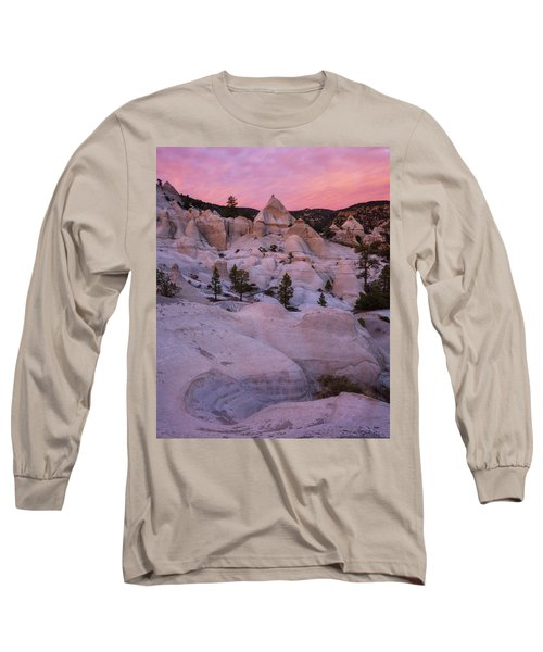 Pyramids  Long Sleeve T-Shirt by Dustin LeFevre