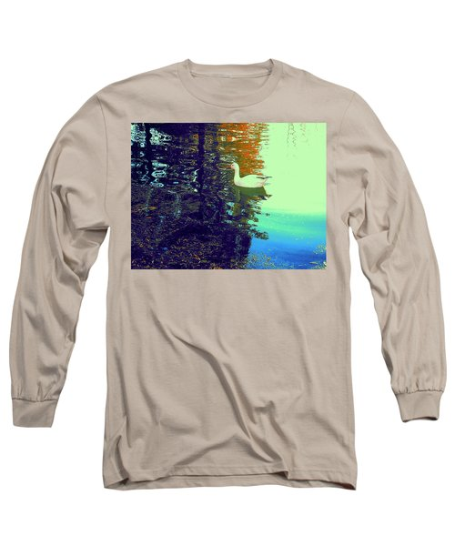 Quack Long Sleeve T-Shirt by Nancy Kane Chapman