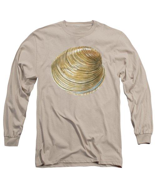 Quahog Shell Long Sleeve T-Shirt