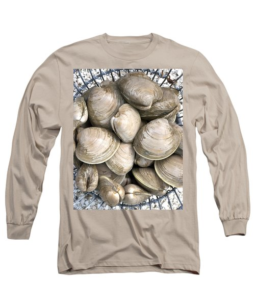 Quahogs Long Sleeve T-Shirt by Charles Harden