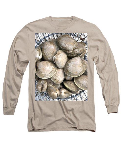 Barnstable Harbor Quahogs Long Sleeve T-Shirt