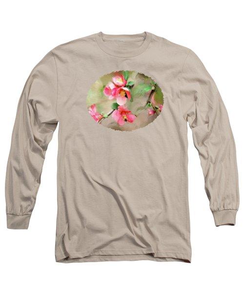 Quaint Quince Long Sleeve T-Shirt