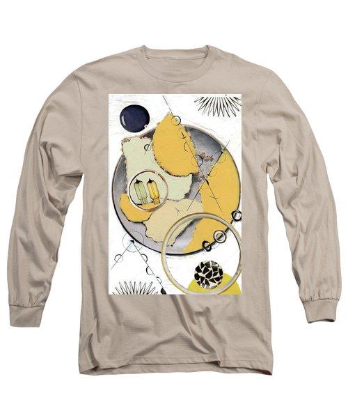 Quantom Physics Long Sleeve T-Shirt by Michal Mitak Mahgerefteh