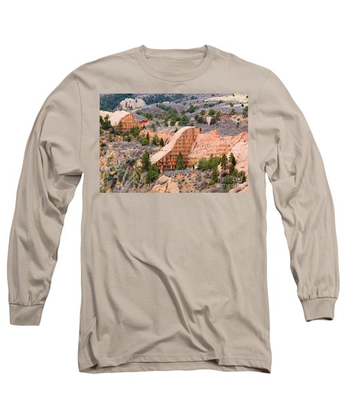 Quarry At Red Rock Canyon Colorado Springs Long Sleeve T-Shirt