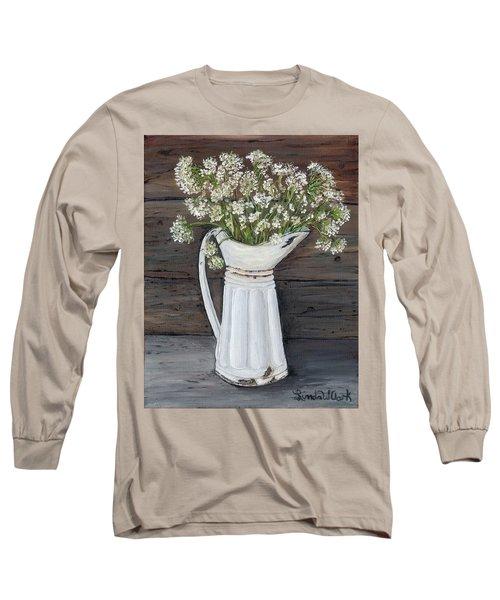 Queen Ann's Lace Long Sleeve T-Shirt
