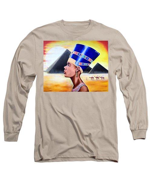 Queen Nefertiti Long Sleeve T-Shirt