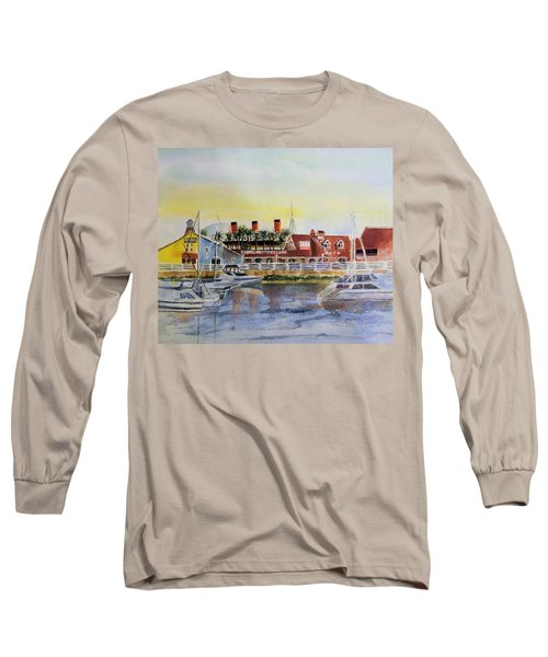 Queen Of The Shore Long Sleeve T-Shirt by Debbie Lewis