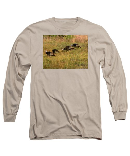Quick Hide It's Thanksgiving Long Sleeve T-Shirt