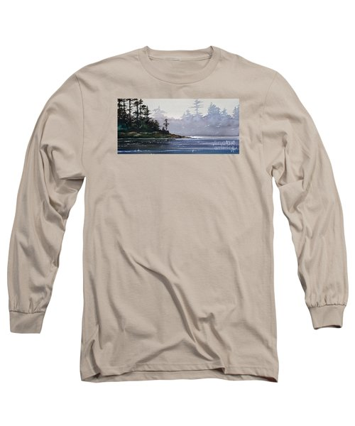 Quiet Shore Long Sleeve T-Shirt by James Williamson