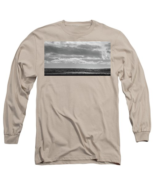 Quiet Shores After The Storm Long Sleeve T-Shirt