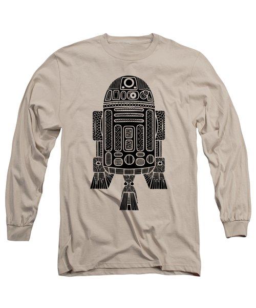 R2 D2 - Star Wars Art Long Sleeve T-Shirt