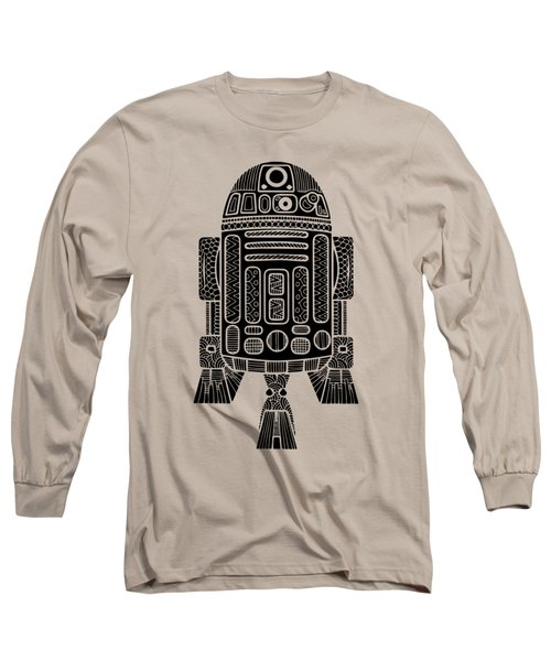 R2 D2 - Star Wars Art Long Sleeve T-Shirt