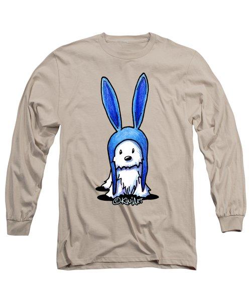 Rabbit Ears Westie Long Sleeve T-Shirt