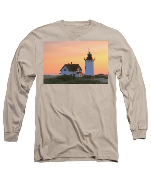 Long Sleeve T-Shirt featuring the photograph Race Point Light by Roupen  Baker