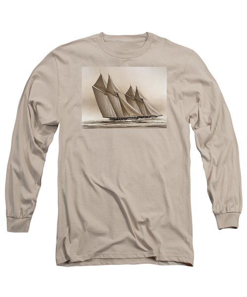 Racing Yachts Long Sleeve T-Shirt by James Williamson
