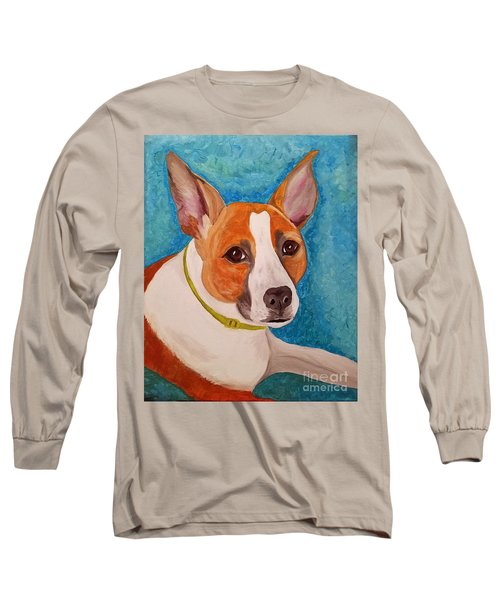 Long Sleeve T-Shirt featuring the painting Radar  by Ania M Milo