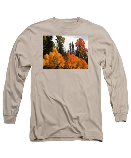 Radiant Autumnal Forest Long Sleeve T-Shirt