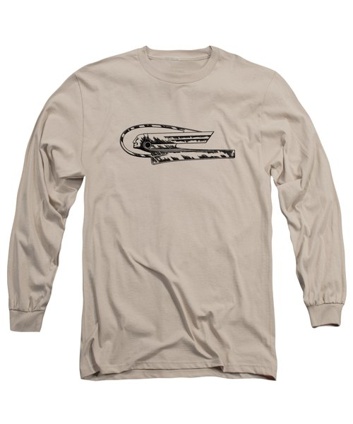 Radiator Ornament Patent 1935 Long Sleeve T-Shirt