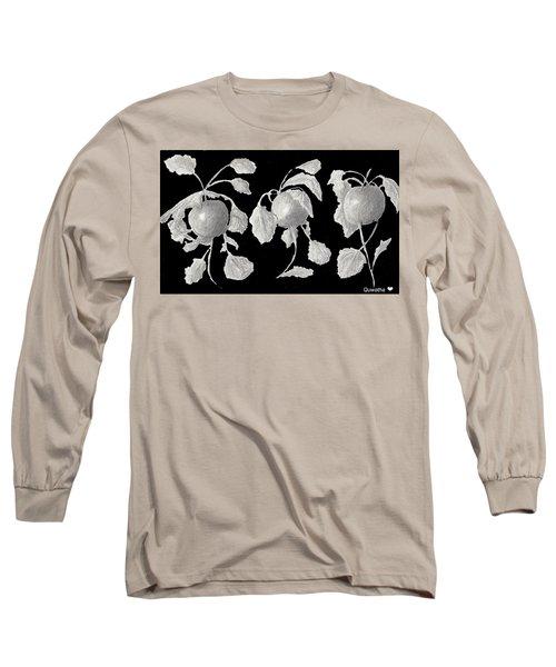 Radishes Long Sleeve T-Shirt by Quwatha Valentine