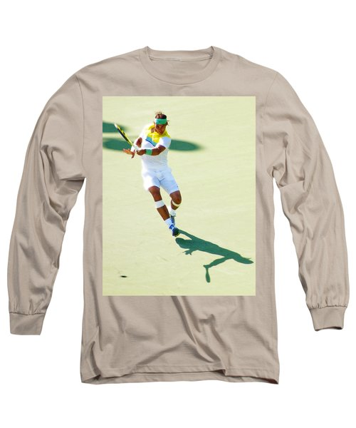 Rafael Nadal Shadow Play Long Sleeve T-Shirt