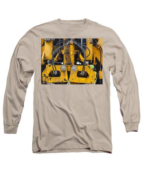 Railroad Equipment Long Sleeve T-Shirt