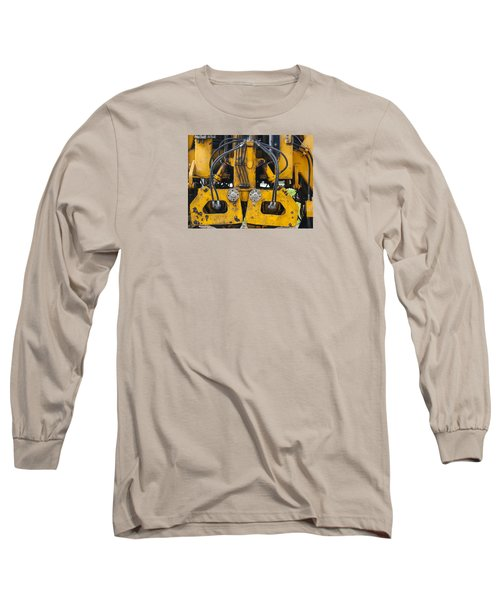 Railroad Equipment Long Sleeve T-Shirt