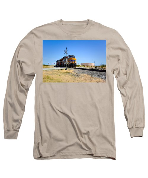 Railway Crossing Long Sleeve T-Shirt