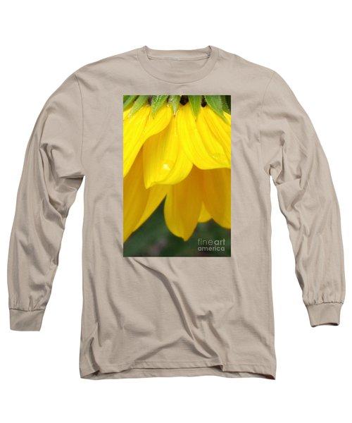Rain And Sunshine On A Colorado Wildflower Long Sleeve T-Shirt