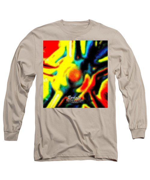 Rainbow Bliss #051347 Long Sleeve T-Shirt by Barbara Tristan