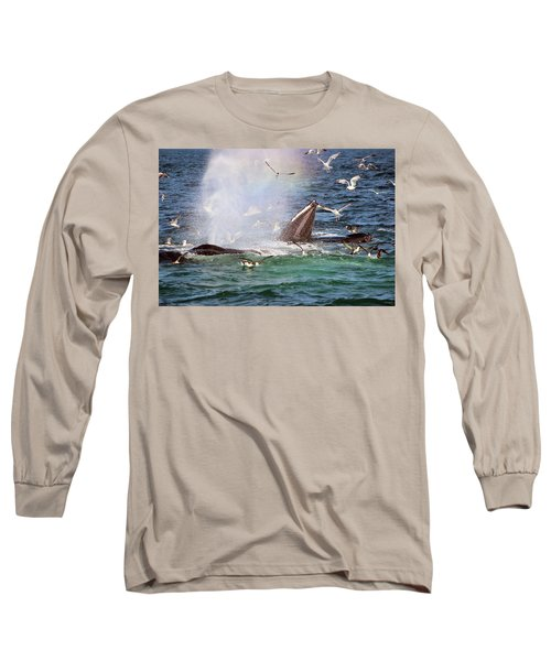 Rainbow In The Spray 2 Long Sleeve T-Shirt