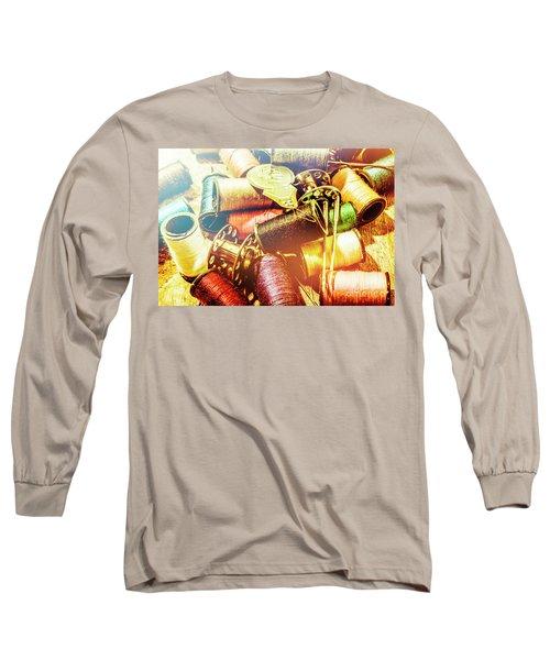 Rainbow Sew Long Sleeve T-Shirt