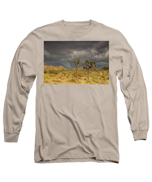 Rainbows Thunderstorms And Sunsets Long Sleeve T-Shirt