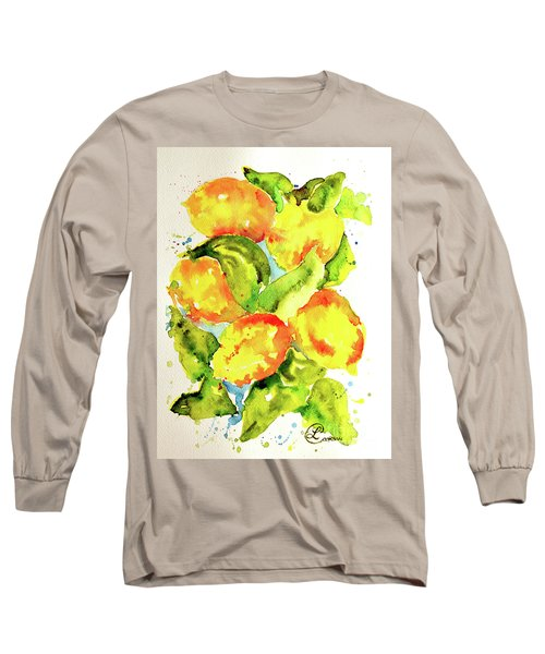 Rainwashed Lemons Long Sleeve T-Shirt