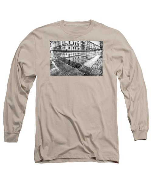 Long Sleeve T-Shirt featuring the photograph Rainy Day by Jivko Nakev