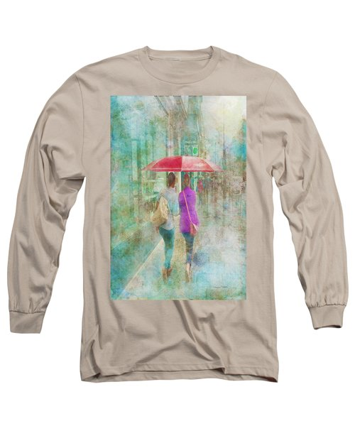 Rainy In Paris 1 Long Sleeve T-Shirt