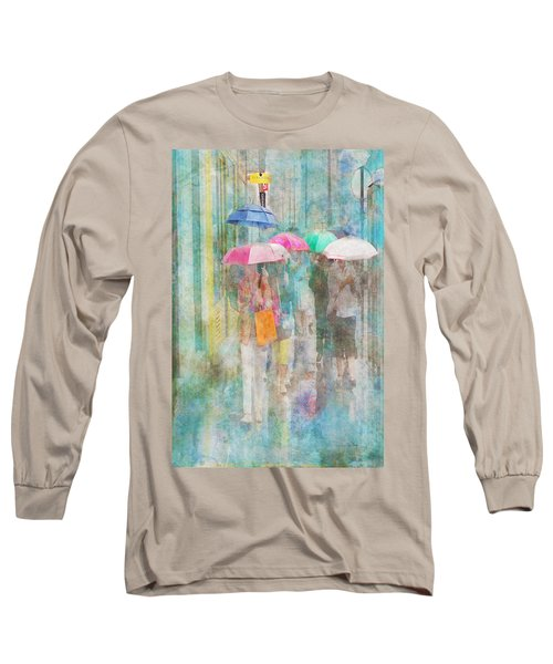 Rainy In Paris 2 Long Sleeve T-Shirt