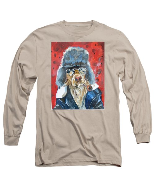 Long Sleeve T-Shirt featuring the painting Ralph by P Maure Bausch