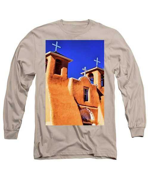 Ranchos De Taos Church Long Sleeve T-Shirt