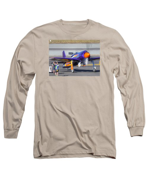 Rare Bear Startup Long Sleeve T-Shirt