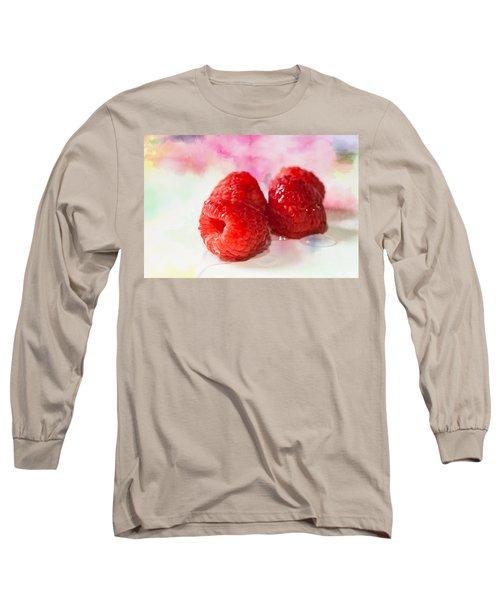 Raspberries Long Sleeve T-Shirt