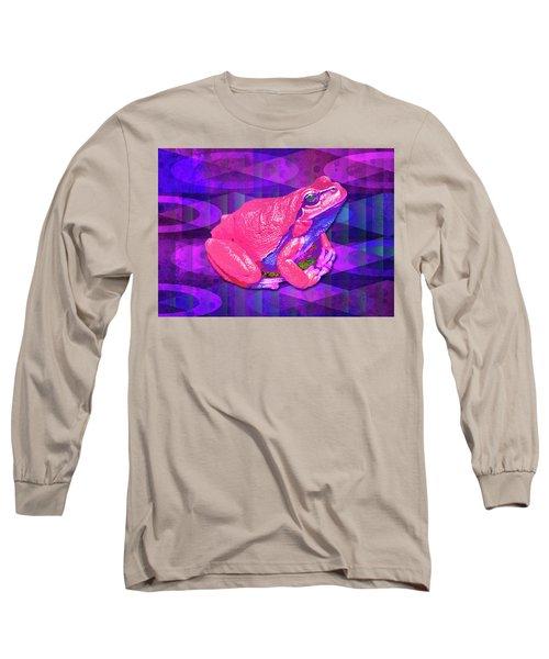Raspberry Frog Long Sleeve T-Shirt