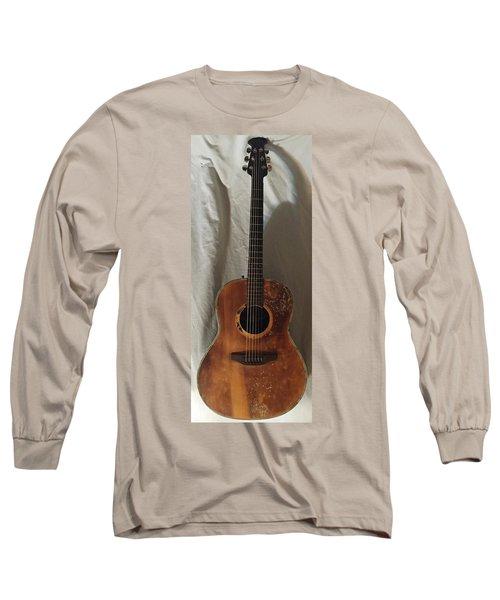 Rat Guitar Long Sleeve T-Shirt