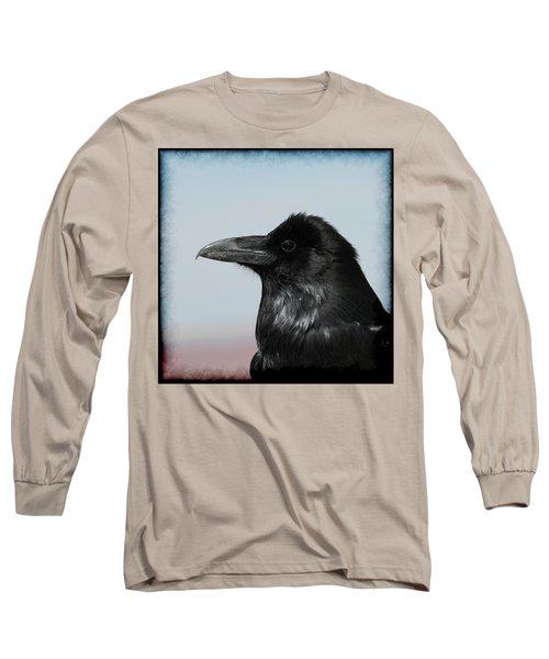 Raven Profile Long Sleeve T-Shirt