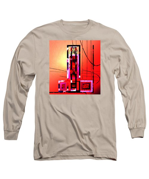 Re-cycled Art Long Sleeve T-Shirt by Andrew Penman