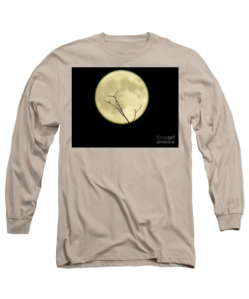 Reaching Out Into The Night Long Sleeve T-Shirt