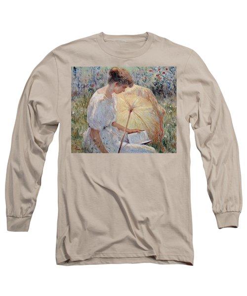 Sunny Day Long Sleeve T-Shirt by Pierre Van Dijk